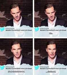 Oh I love that he corrected them! He took it in stride! Like a real gentleman!