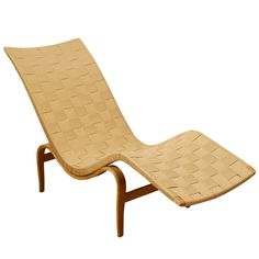1936 Lounge Chair by Bruno Mathsson. Pernilla Chair or earlier?