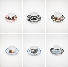 Porcelain by Elisabeth Dunker and Anna Backlund for House of Rym