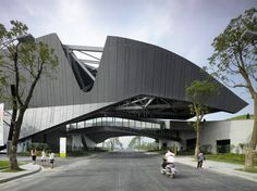 morphosis architects: giant interactive group corporate headquarters