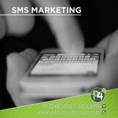 """Quer enviar um lembrete da consulta reunião ou data especial para seu paciente/cliente? A #P4Consultoria tem a solução mais prática e eficiente para você: #SMSMarketing ferramenta de baixo custo com envio de mensagem de texto direto para o celular do seu público-alvo com aquele """"semancol"""" básico para emitir a mensagem sem ser invasivo ou inconveniente. #Profissionalismo #empreendedorismo #Sms #Marketing #MarketingDigital #Mkt #consultoria #Mercado #motivação #AltaPerformance"""