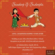 A Funny Take Indian Wedding Invitation Card Wedding Card Design Indian, Indian Wedding Cards, Indian Wedding Planning, Indian Wedding Quotes, Indian Wedding Invitation Cards, Creative Wedding Invitations, Indian Invitations, Invites Wedding, Wedding Card Quotes