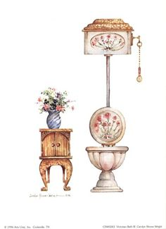 Victorian Bath III...Carolyn Shores- Wright