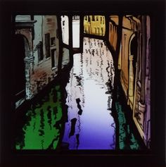 Emma Butler - Cole Aiken Stained Glass. Venice Reflections.
