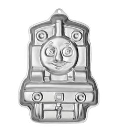WILTON-Novelty Cake Pan. The perfect way to bake your childs birthday cake, or for any special occasion. This package contains one 13x9 inch Thomas and Friends cake pan and step by step instructions t