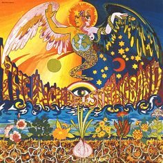 ☮ American Hippie Psychedelic Art ~ Album Cover .. The Incredible String Band - The 5000 Spirits Or The Layers Of The Onion. 1967
