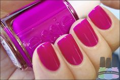 Nail Colors, Nail Polish Trends, Nail Care & At-Home Manicure Supplies by Essie. Shop nail polishes, stickers, and magnetic polishes to create your own nail art look. Get Nails, Love Nails, How To Do Nails, Pretty Nails, Hair And Nails, Pink Nails, Finger, Uñas Fashion, Nail Envy