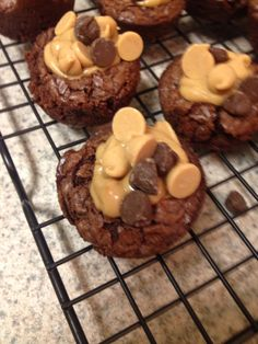 How to Make Peanut Butter Brownie Bites