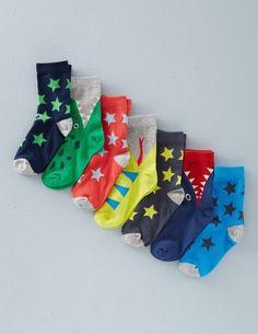 7 Pack Sock Box 51027 Socks & Tights at Boden