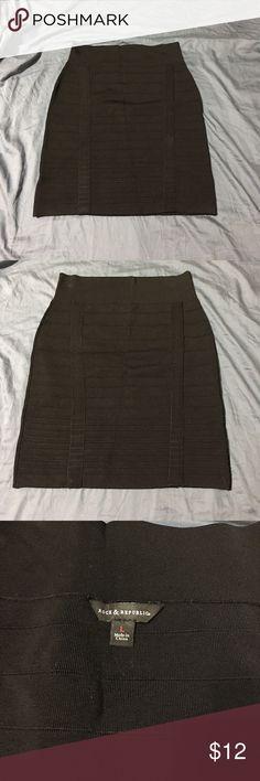 Rock & Republic bandage skirt Black super comfortable skirt. Only worn once! Rock & Republic Skirts Mini