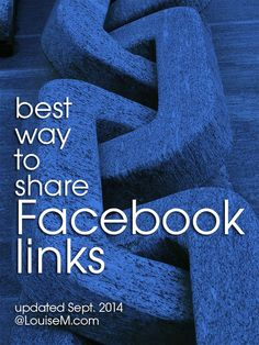 Which Facebook Page posts reach and engage more fans? #Facebook says standard Link Shares will get priority over images with links in the caption. Read why. --> http://louisem.com/4292/facebook-page-posts-links #FacebookTips #FacebookMarketing #FacebookPages