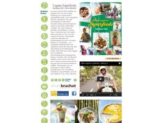 Vegane Superfoods - Super lecker! Ein Kochbuch mit einem Making-Of-Video? Vielleicht ist es auch ein Fotoband. Oder ein Reisebericht. Oder von allem ein bisschen...