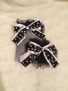 #BlackandWhite Crystal Fishnet #ThighHighStockings. #Burlesque #Cabaret #Costume #EmpireMiniTopHats #Stockings