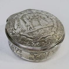 Zilveren snuifdoos, 18e eeuw