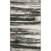 Found it at Wayfair - Retro Dark Grey & Light Grey Area Rug