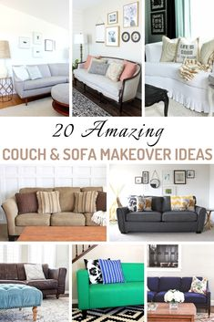 Amazing Couch & Sofa Makeover Ideas Couch & Sofa Makeover Ideas your going to love! Couch & Sofa Makeover Ideas your going to love! Diy Couch, Diy Furniture Couch, Diy Chair, Couch Sofa, Furniture Usa, Repurposed Furniture, Couches, Furniture Making, Luxury Furniture