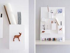 Acryllack Farbrolle Schleifpapier Rundstab 12mm 2 Holzklötze Plastiktiere Holzleim Kraftkleber Sperrholzplatte 50cm x 70cm, ca. 6mm dick Verschiedene Plastikrohre, -flaschen oder Dosen