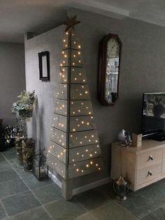 Christmas DIY: Kerstboom hoek Kerstboom hoek #christmasdiy #christmas #diy