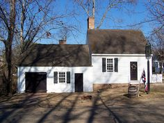 via BKLYN contessa :: Carpenter's House, Colonial Williamsburg, Virginia (VA) by bobindrums, via Flickr