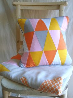 Vibe of this pillow could be changed dramatically depending on the color and fabric choices.