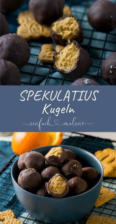 Simple & Ingenious – Speculoos balls with peanut butter and sea salt. Give away or just eat yourself! Mega awesome with these balls you can use your remaining speculoos biscuits wonderfully. This delicious sweet salty combination tastes great Cookie Recipes, Dessert Recipes, Pumpkin Spice Cupcakes, Sweet And Salty, Christmas Baking, Christmas Cookies, Food Inspiration, Sweet Recipes, Peanut Butter