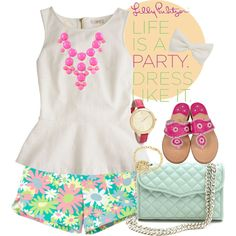 """""""Love and Lilly"""" by alyssajarae on Polyvore Lilly Pulitzer"""