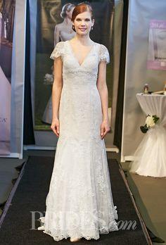 Casablanca Bridal Wedding Dresses Spring 2015 Bridal Runway Shows | Wedding Dresses Style | Brides.com