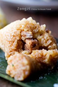 ZONGZI RECIPE - Have you ever tried Chinese Zongzi, a classic Chinese holiday food for Dragon Boat Festival? The fresh and unique fragrance of the reed leaves or bamboo leaves can greatly set the pure aroma of the glutinous rice off. Zongzi is a traditional family festival food in most provinces. They may be different from filling, taste and shape.