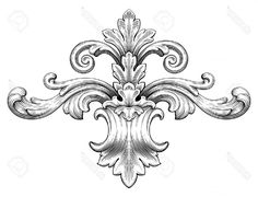 Image result for how to draw basic filigree scrolls