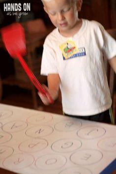 """letters """"meppen"""" leuk voor de kids"""