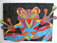 crazy frog, made by Mirjam van der Haar