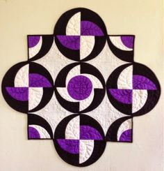 Remember my Rhythmic quilt? The pattern has been selling like hotcakes and most of the quilts I've seen made from it have used the same ...