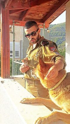 What an IDF soldier does in his spare time