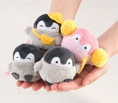 All About Penguins, Penguins And Polar Bears, Baby Penguins, Felt Penguin, Penguin Love, Penguin Party, Fluffy Animals, Cute Animals, Net Shopping
