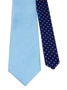 Flipmytie - Men's Blue Reversible Tie (C), $24.99 (http://www.flipmytie.com/mens-blue-reversible-tie-c/)