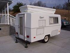 Survival camping tips Camper Caravan, Camper Trailers, Camper Van, Tiny Trailers, Little Campers, Cool Campers, Vintage Caravans, Vintage Trailers, Vintage Campers