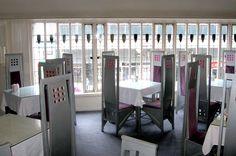 The Willow Tea Rooms, Glasgow, Scotland, by Charles Rennie Mackintosh