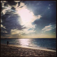 The sun still tries to shine through on the cloudiest day at #TurksandCaicos. #Paradise