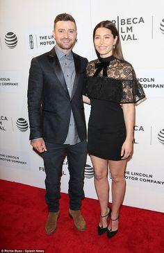Tribeca Film Festival - Justin Timberlake and Jessica Biel