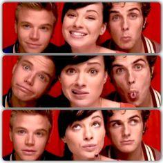 Brett Davern, Ashley Rickards, and Beau Mirchoff--Awkward Cast
