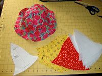 Toddler Sun Hat Tutorial. I need to make one of these for Bentley PRONTO.