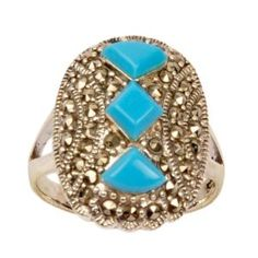 Sterling Silver Turquoise Gemstone Ring Jewelry US Size 9 1/2 (Jewelry)  http://www.amazon.com/dp/B002ICEU8Q/?tag=iphonreplacem-20  B002ICEU8Q