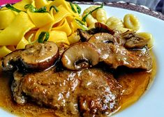 Slovak Recipes, Czech Recipes, Meat Recipes, Cooking Recipes, Comfort Food, Food 52, Stew, Pork, Food And Drink