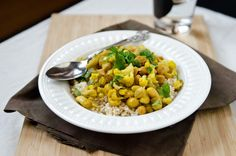 30 Minute Cauliflower & Chickpea Curry - The Fig Tree