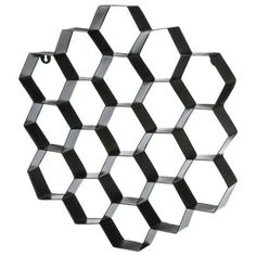 Nate Berkus™ Metal Honeycomb Wall Art - Black  Concept Candie Interiors now offers virtual online interior decorating services for only $200 per room. #ecommerce #homedecor #interiordesign
