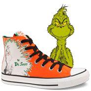 Chuck Taylor Dr. Seuss- Grinch