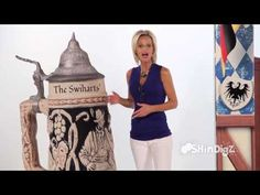 #Oktoberfest ▶ Beer Stein Personalized Standee --by Shindigz - YouTube
