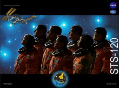 STS-120 Crew poster