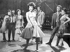 rita moreno dancing dresss in west side story - Google Search @debbylidstrom  -- Is this the dress you mean?  I like the neckline and the skirt :)  Thanks much!!