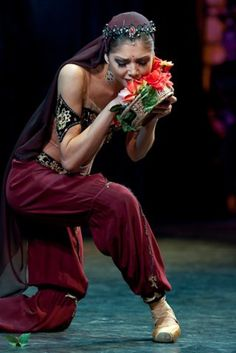 Irina Koshelva in La Bayadere. Photo © Nikolay Krusser. http://balletthebestphotographs.wordpress.com/tag/photographer-nikolay-krusser/